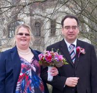 Sabine und Wilfried - Sabine und Wilfried haben geheiratet