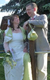martina und andre - Wir haben geheiratet + wollen Euch an unserer Freude teilhaben lassen!
